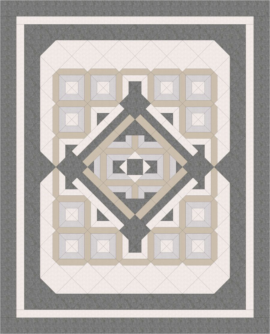 Quilt Basics - Quilt 1 Pattern