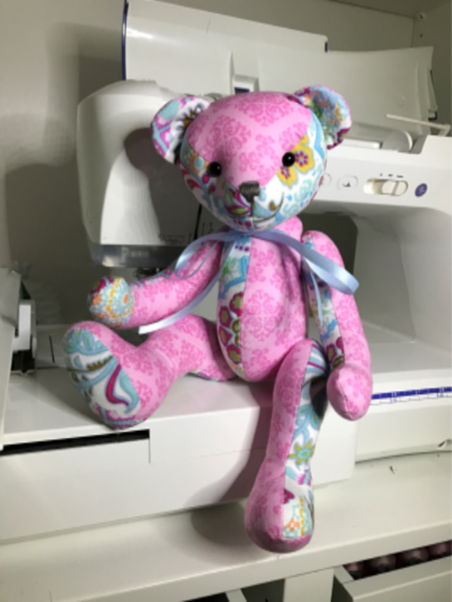 Memory Teddy Bear Sewing Pattern