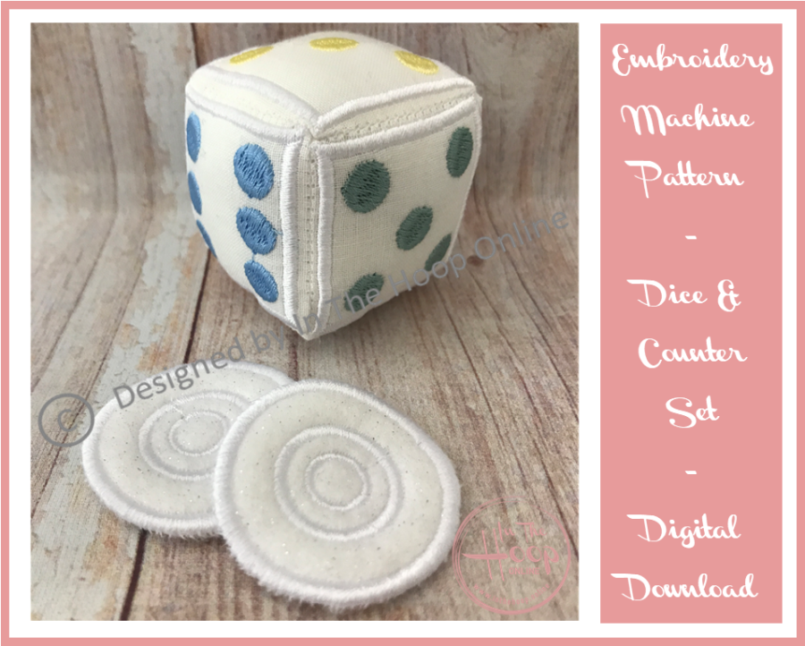 Dice and Counters Set