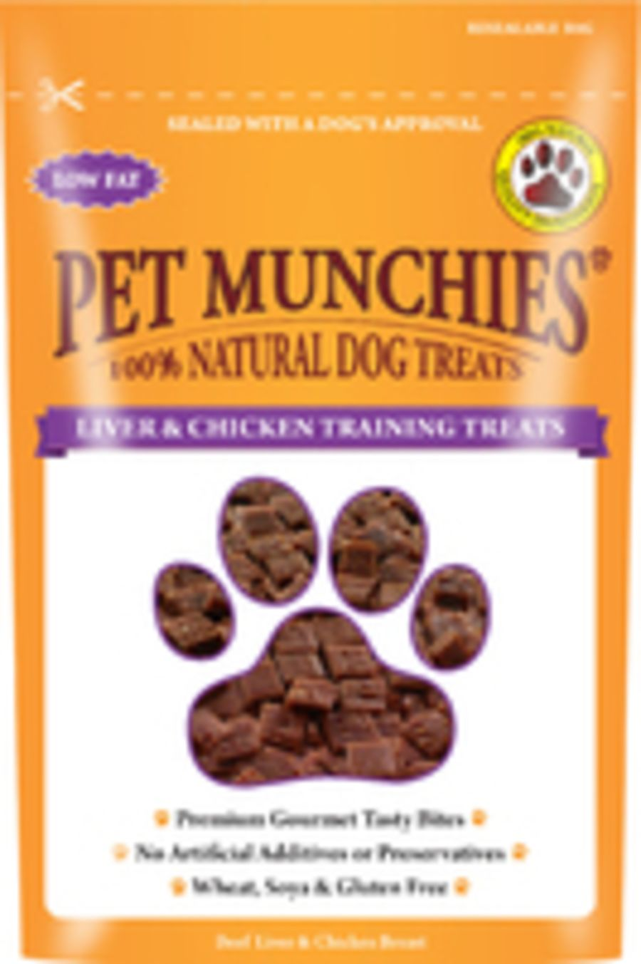 Liver and Chicken Training Treats 50g