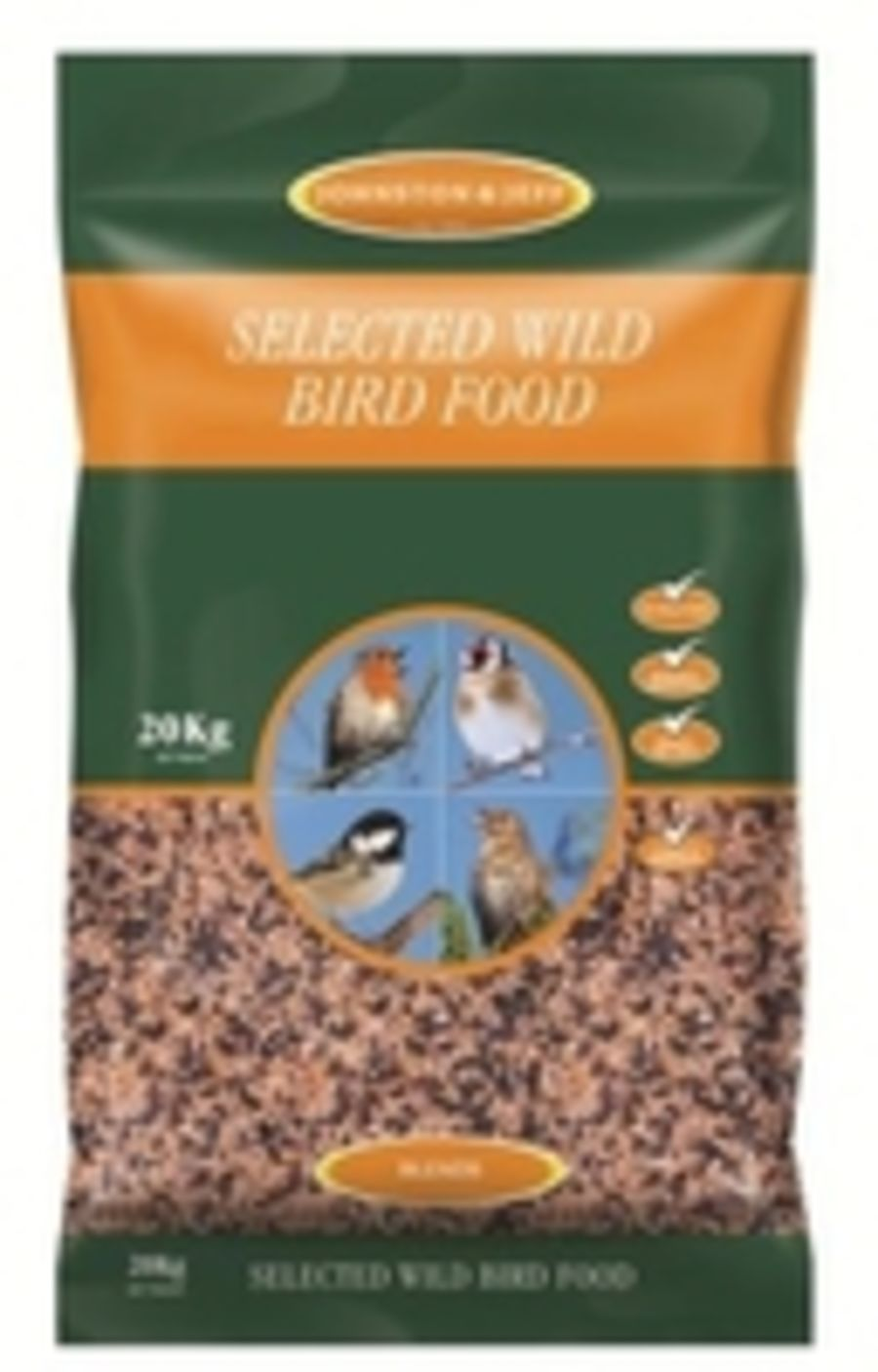 Johnston & Jeff Selected Wild Bird Seed from