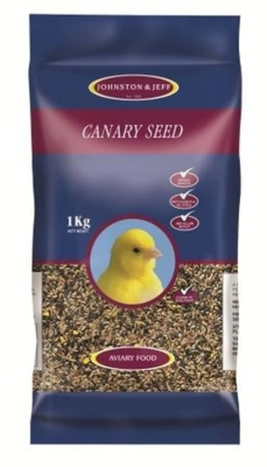 Johnston & Jeff Canary Favourite seed 1kg