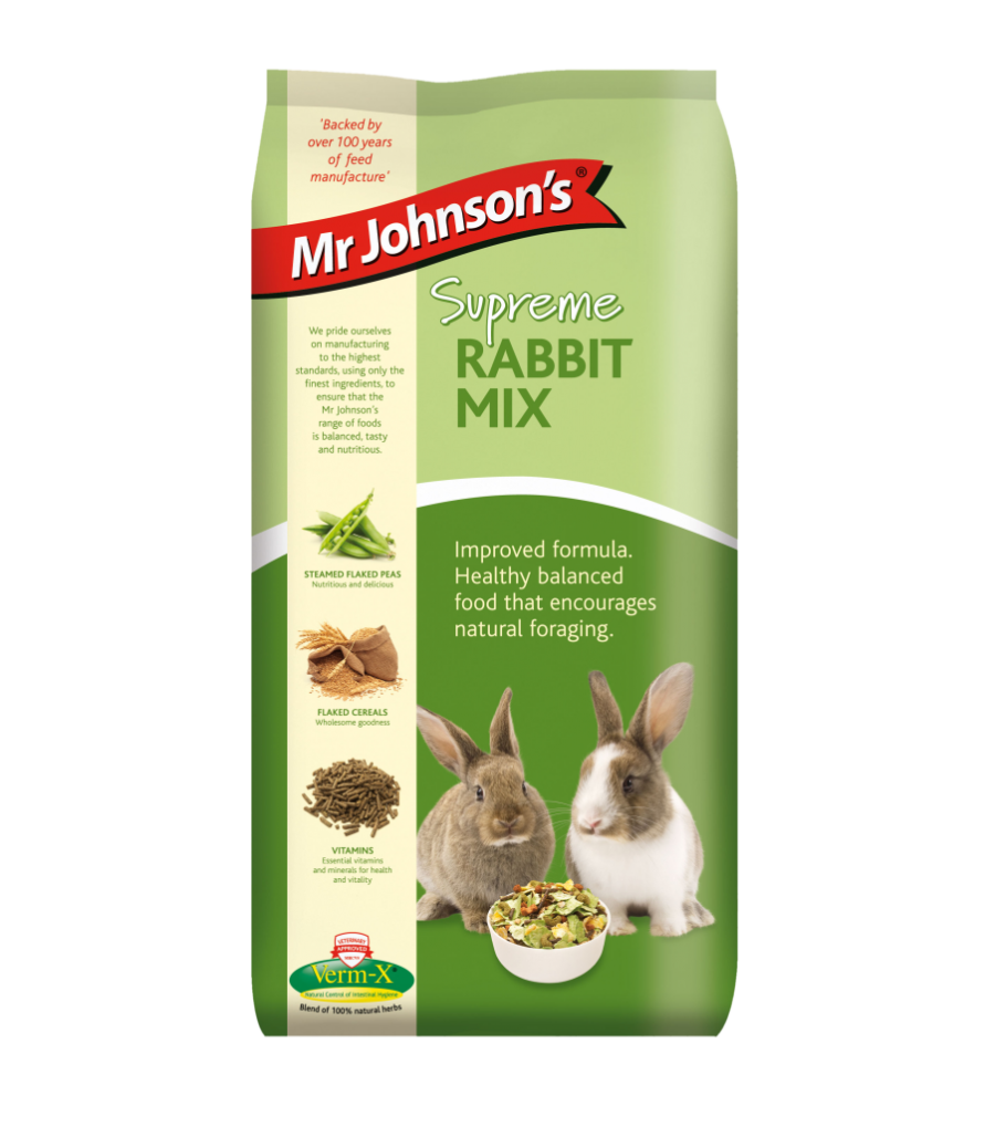 Mr Johnsons Supreme Rabbit Mix 2.25kg