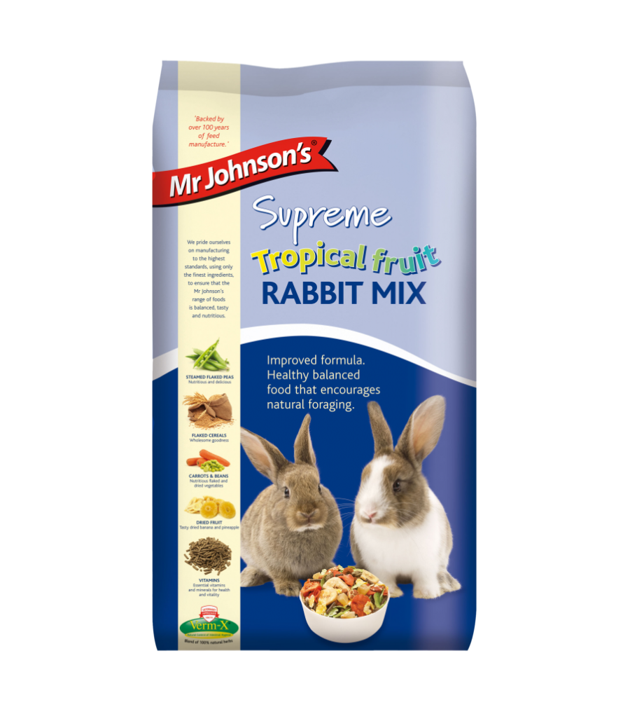 Mr Johnsons Supreme Tropical Fruit Rabbit Mix 2.25g