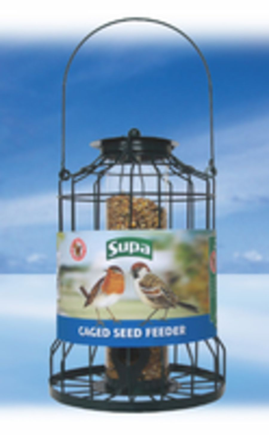 Supa Caged Seed Feeder