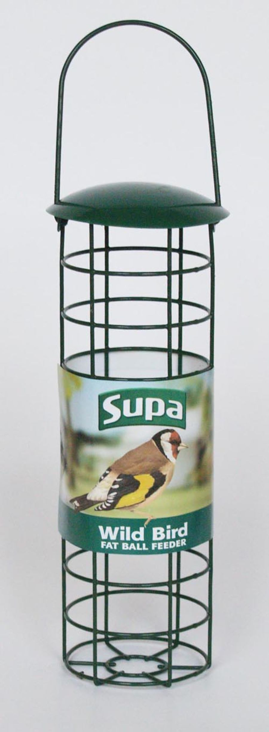 Supa fat ball feeder for small fat balls.