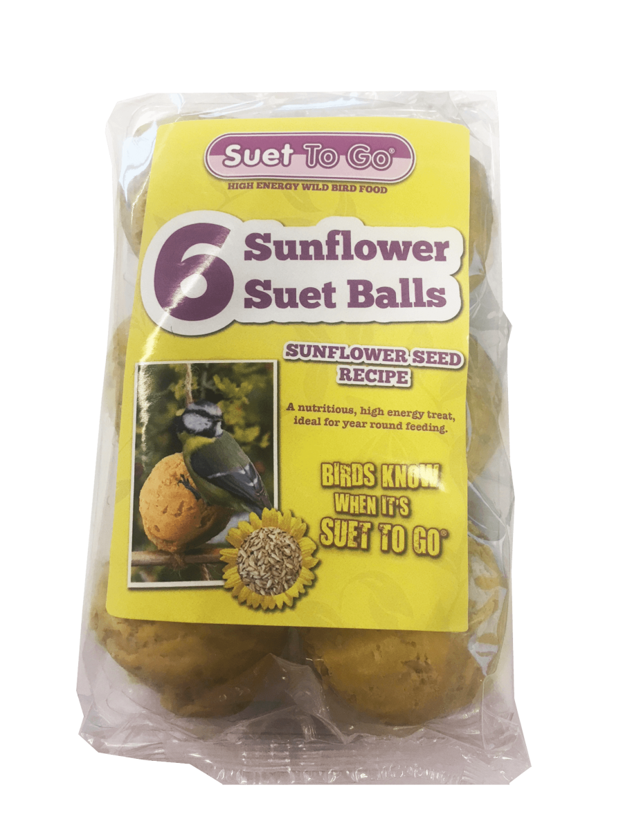 Suet 2 Go standard fat balls ( Sunflower)