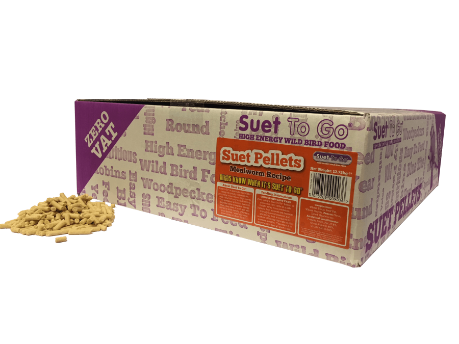 Suet Pellets, with insects 1kg from