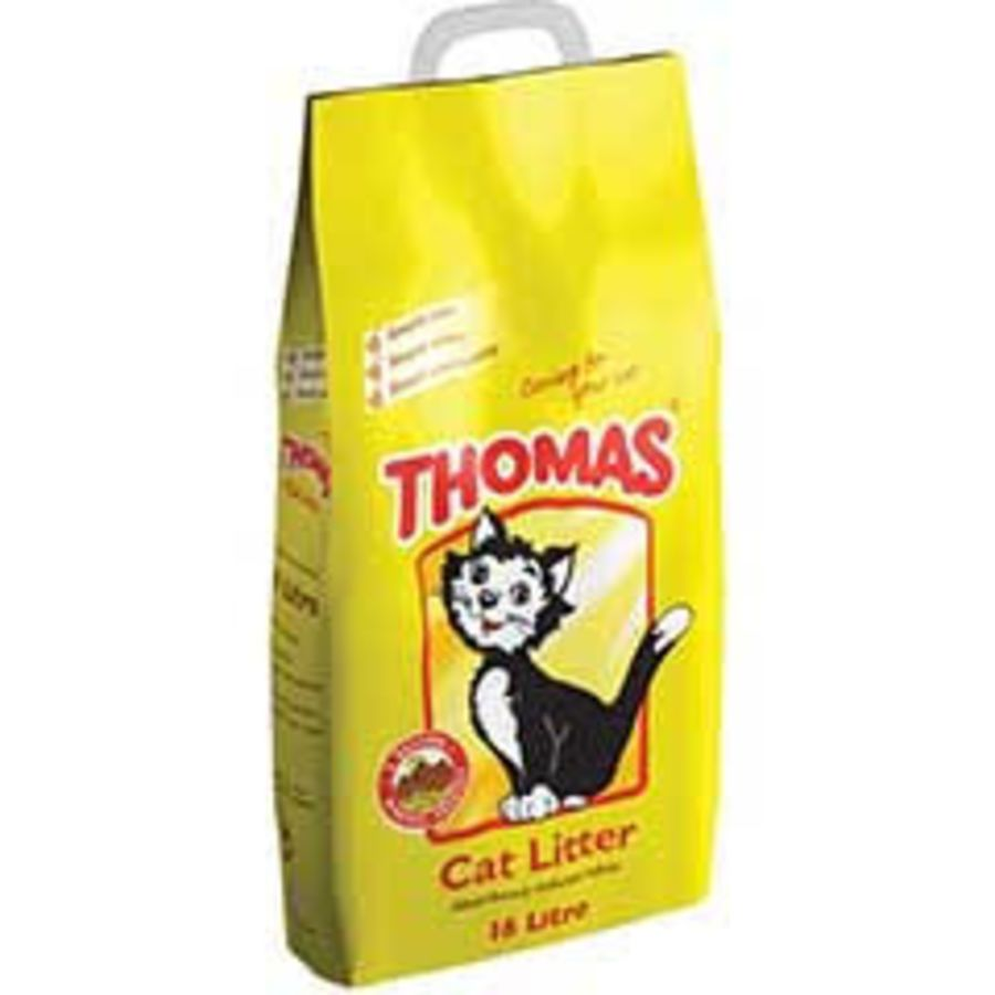 Thomas 16ltr non clumping litter