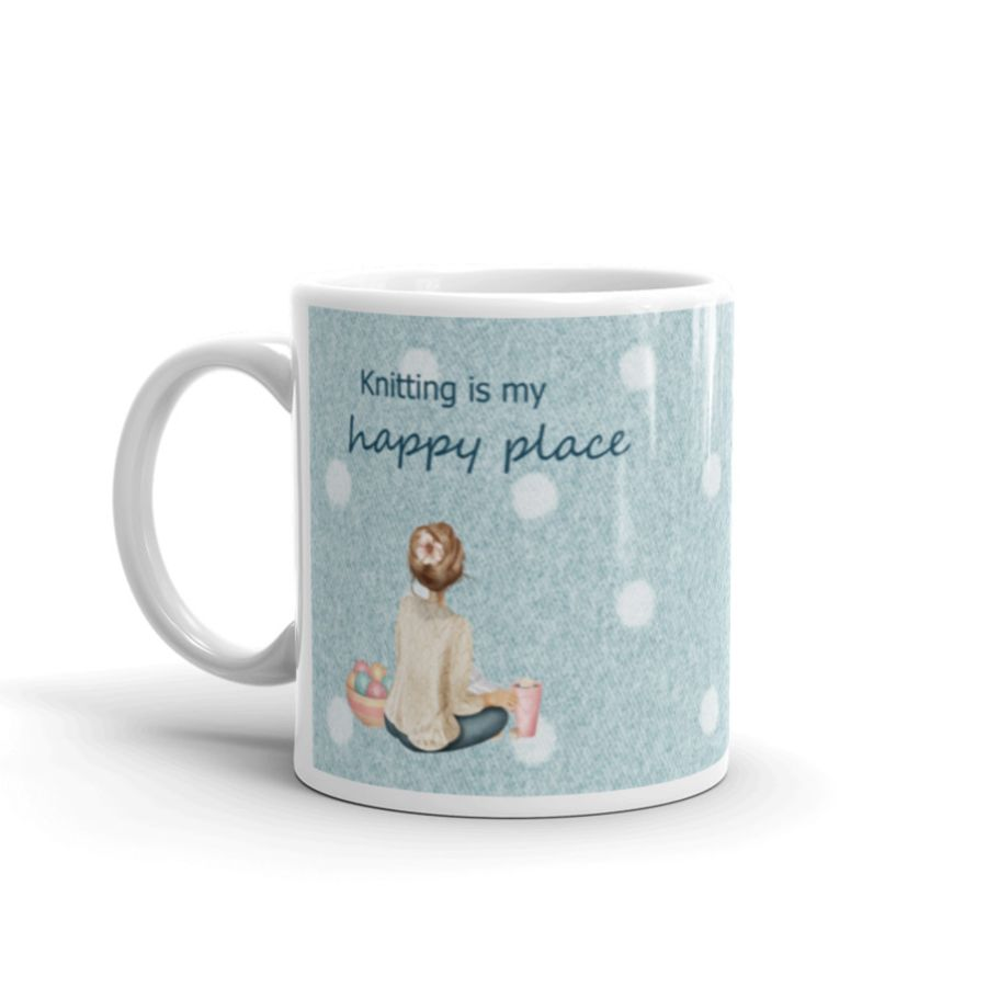 Crochet is My Happy Place Mug