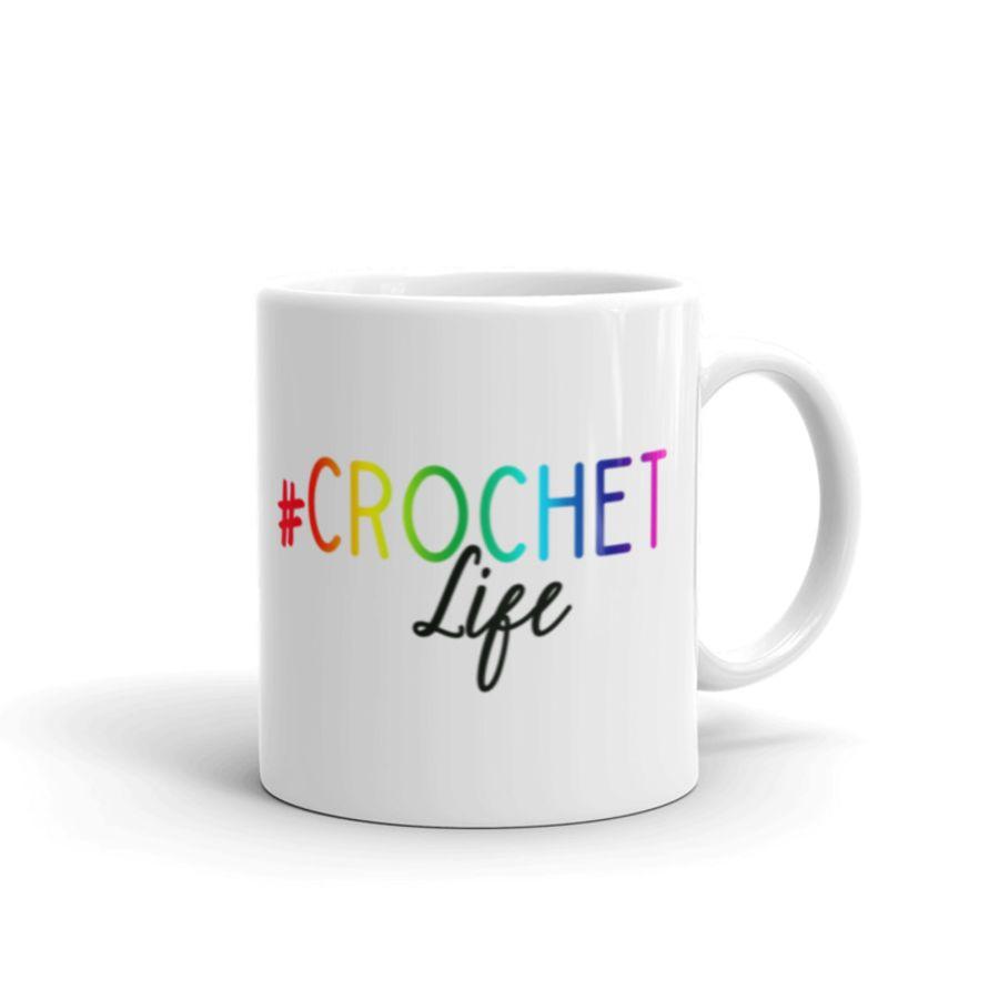 #Crochet life mug