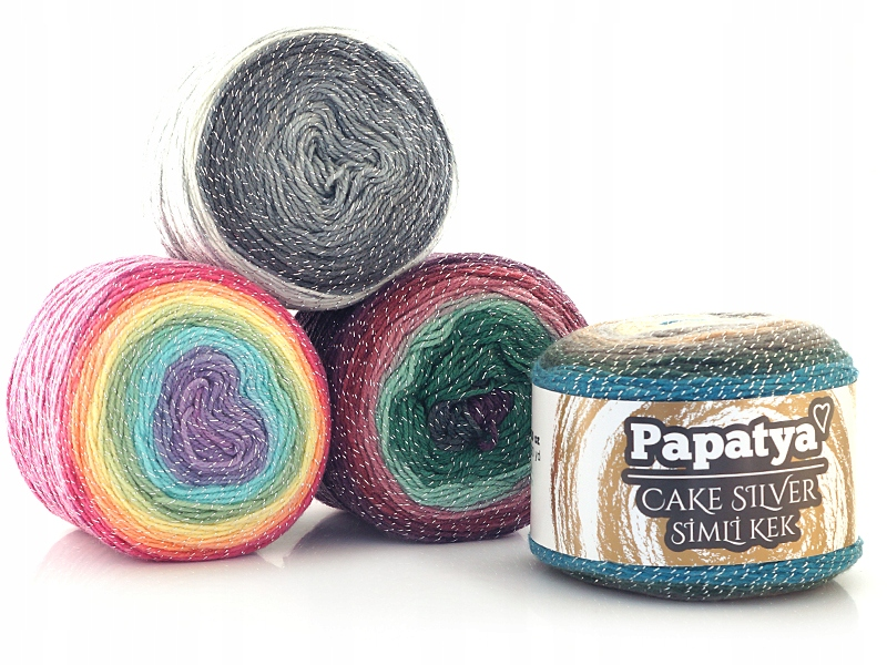 Papatya Cake Silver, DK- TENNER TUESDAY (3 for £10)