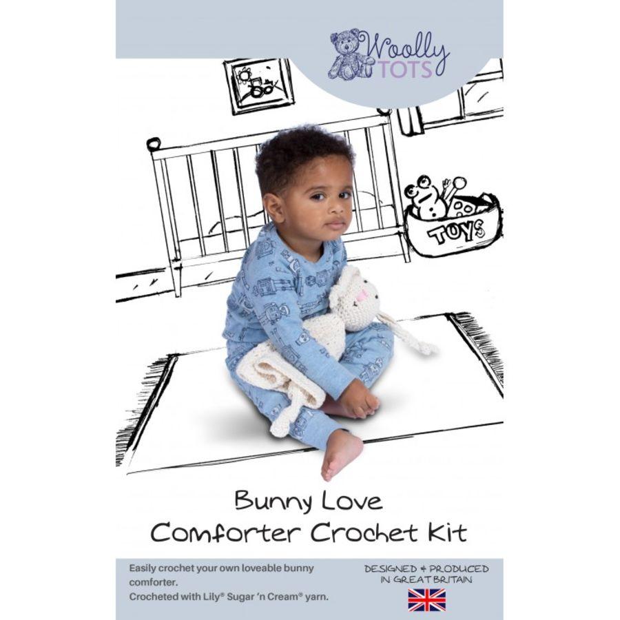 Woolly Tots - Bunny Love Comforter