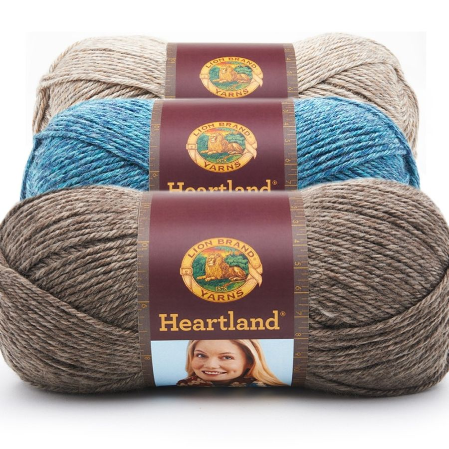 Lion Brand Heartland Aran Yarn, 142g