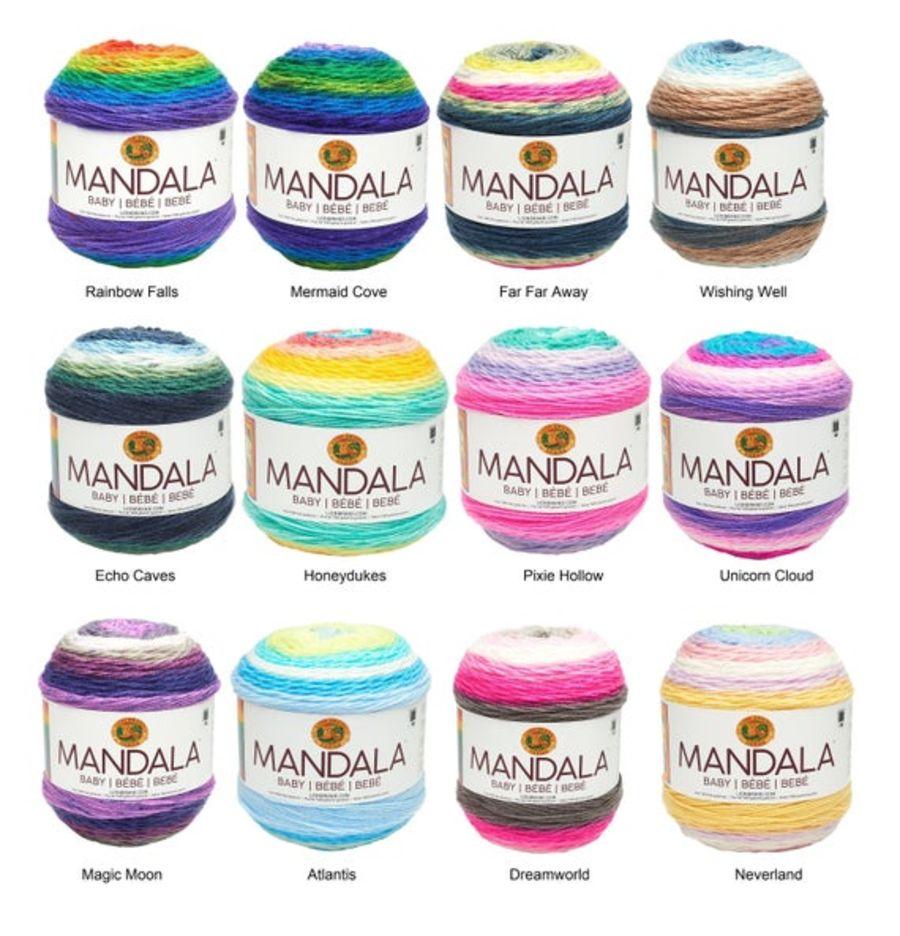 Lion Brand Mandala Baby Yarn Cake 150g, dk