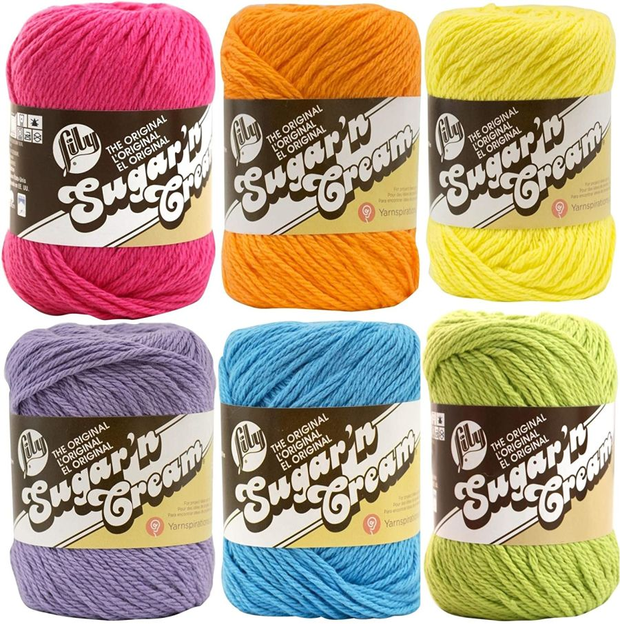 Lily Sugar 'n Cream - mixed colour pack - 6 pack- £15
