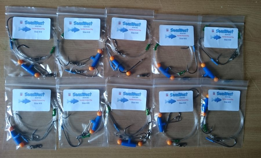 10 x Quality Uptide Pennel Rigs