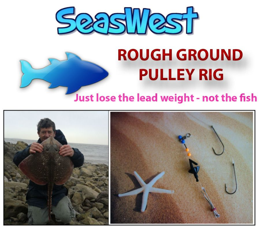 Rough Ground Pulley Pennel Rig – Cod, Ray, Conger, Bass