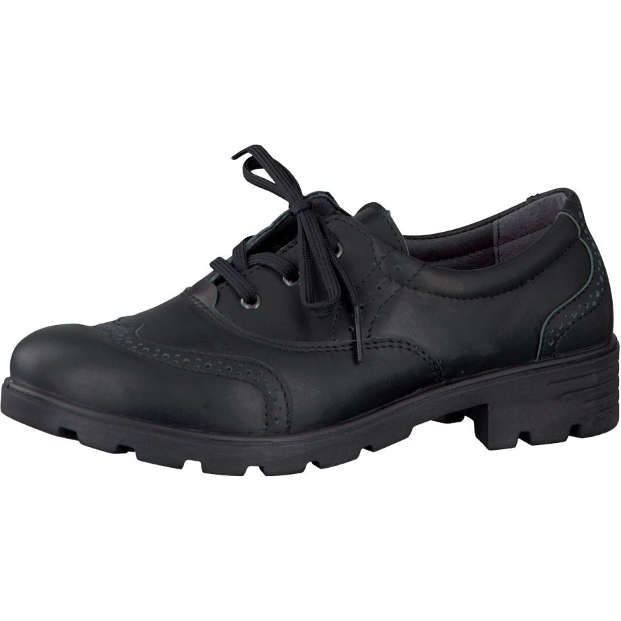 Lucy School Shoes - Black