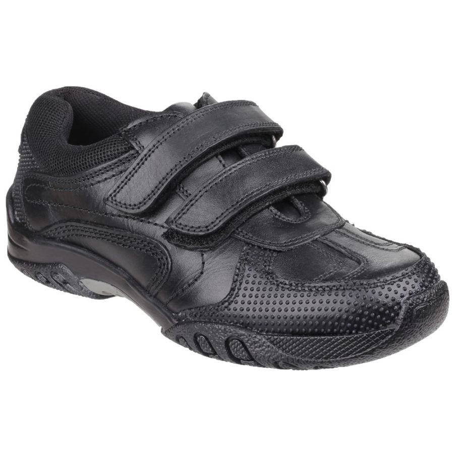 Jezza School Shoes - Black