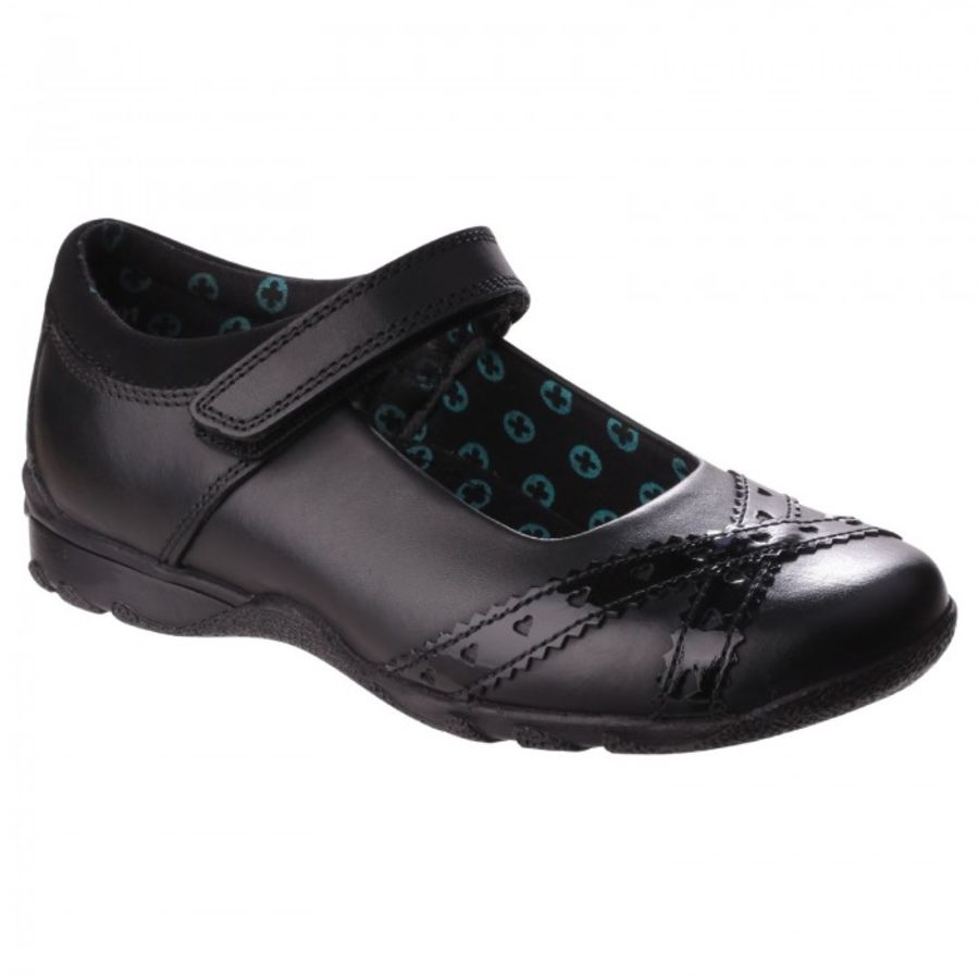 Olivia School Shoes - Black