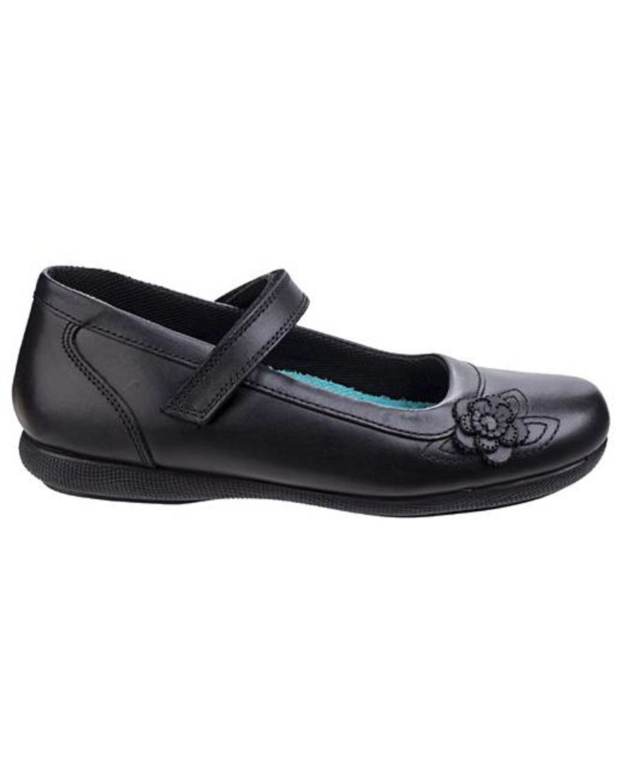 Mia School Shoes - Black