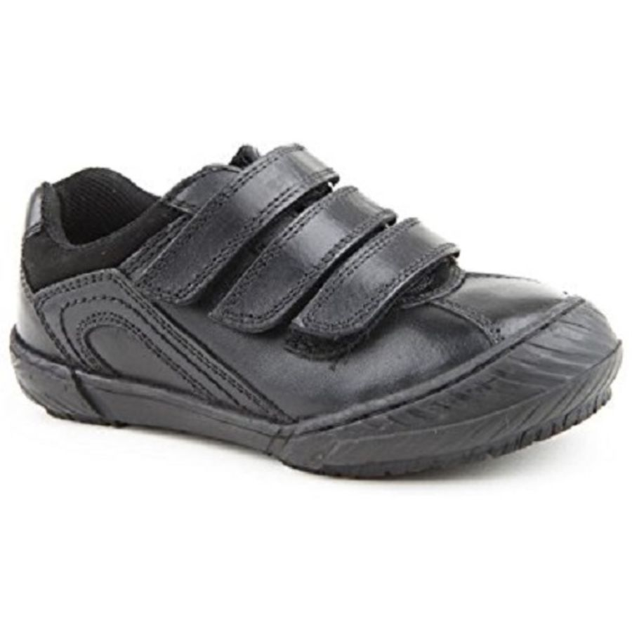 Stefano School Shoes - Black