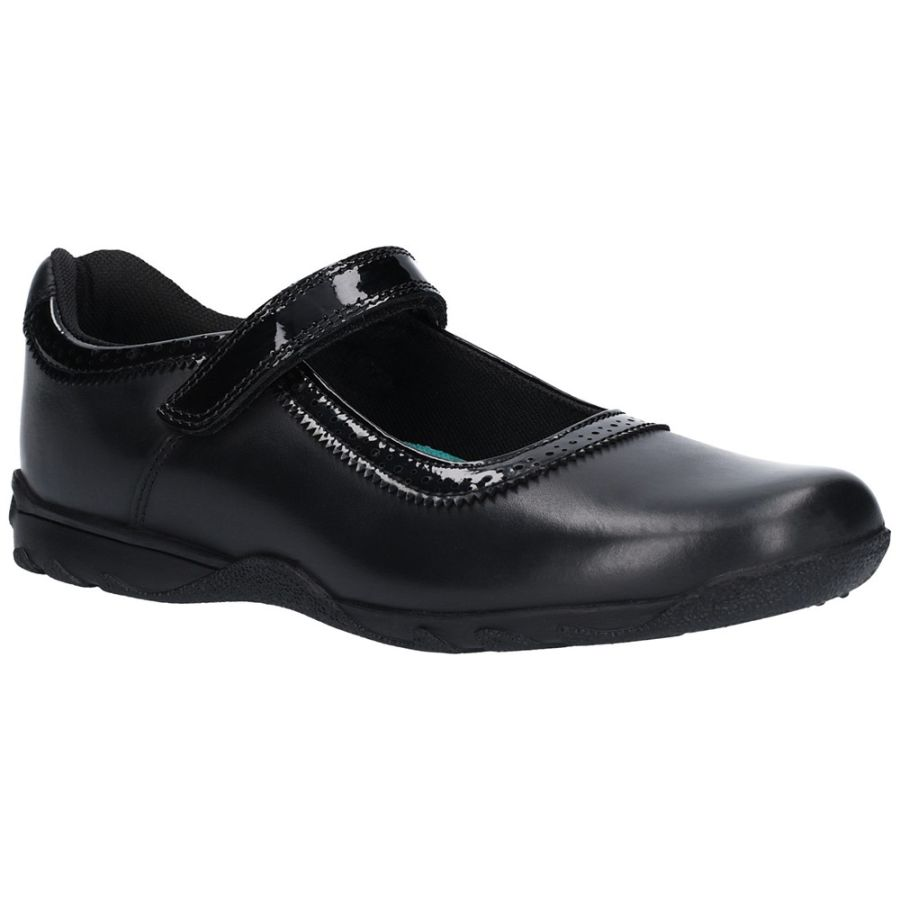 Bessy School Shoes - Black