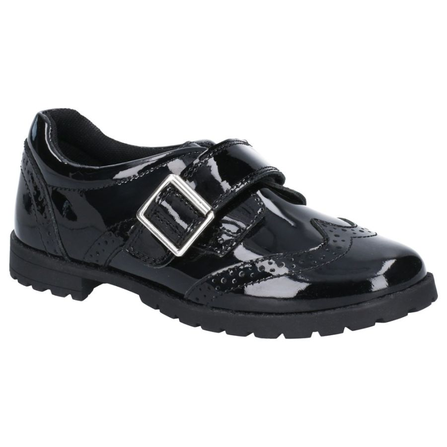 Emily School Shoes - Black Patent