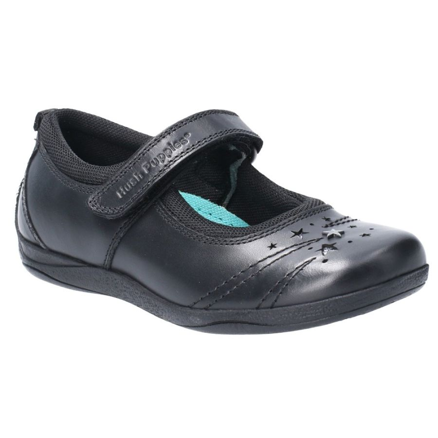 Amber School Shoes - Black