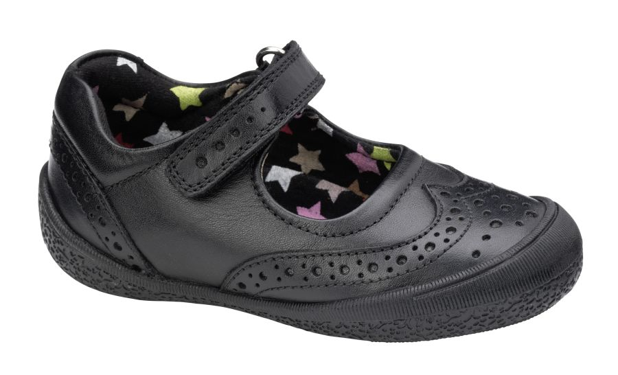 Rina School Shoes - Black