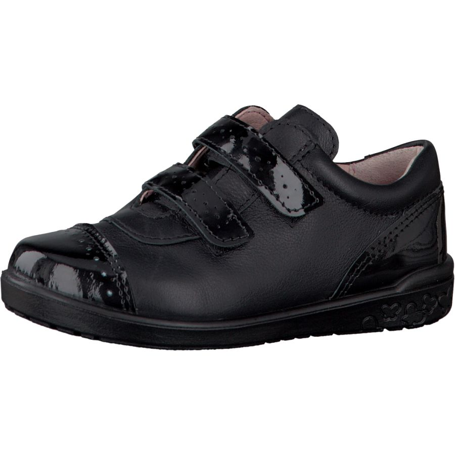 Grace School Shoes -  Black/Patent