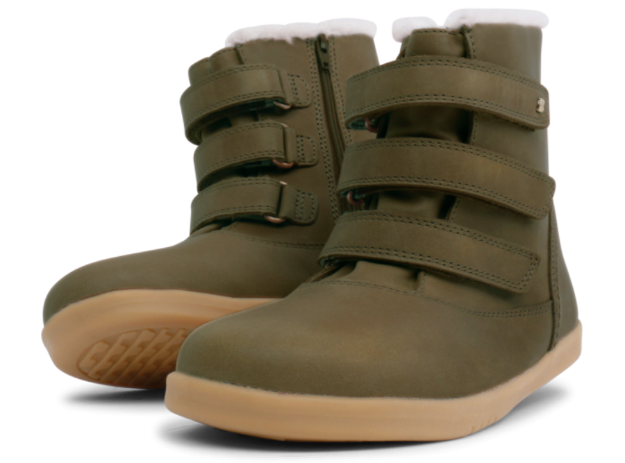 Aspen Kid+ - Olive WOOL LINED + WATERPROOF