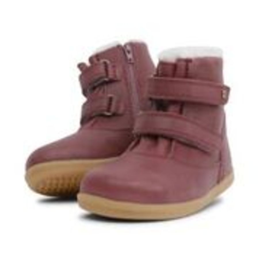 Aspen I Walk - Plum WOOL LINED + WATERPROOF