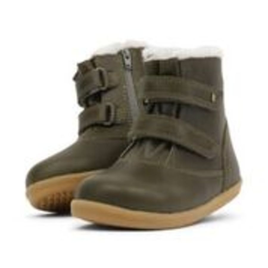 Aspen I Walk - Olive WOOL LINED + WATERPROOF