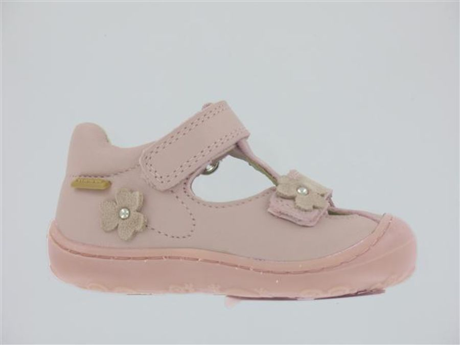 Lucia - Pale pink Leather