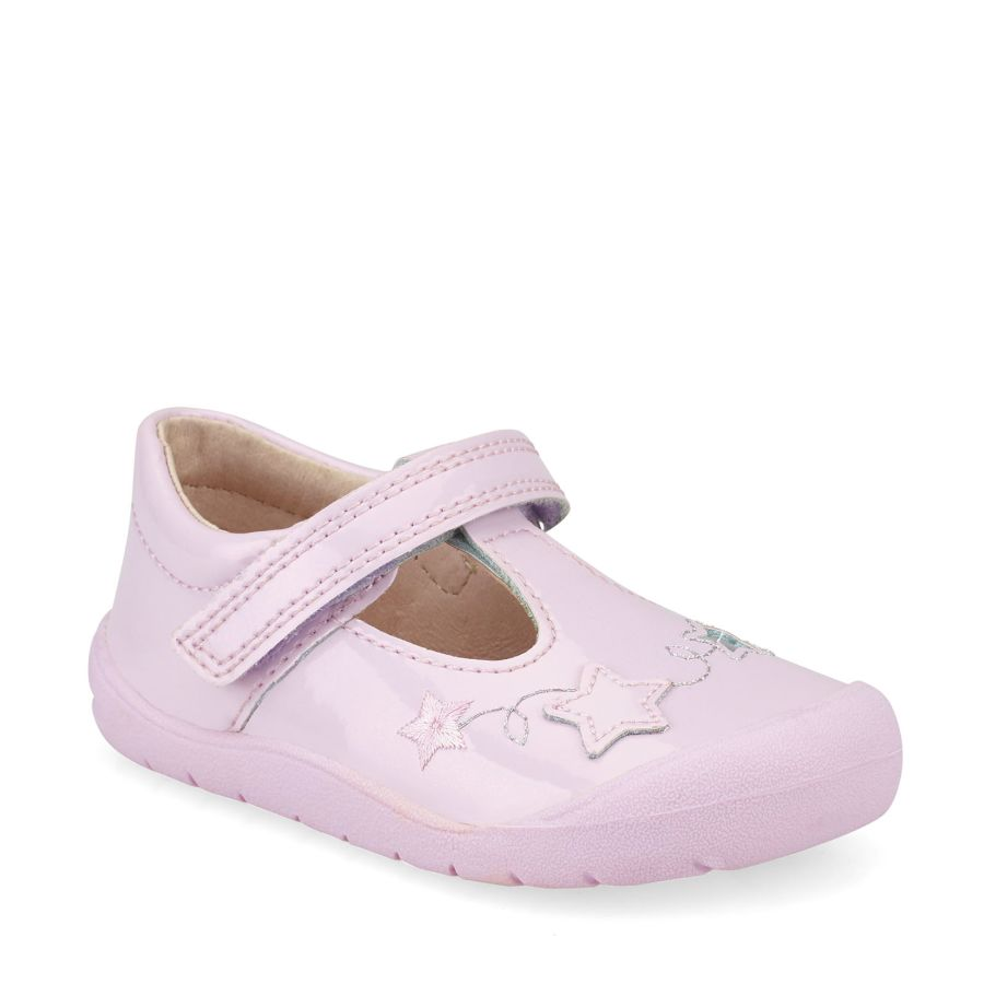 Sparkle First-walkers - Pale Lilac Glitter Patent