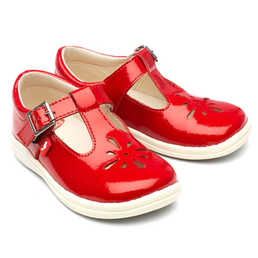 Trixie - Red patent leather