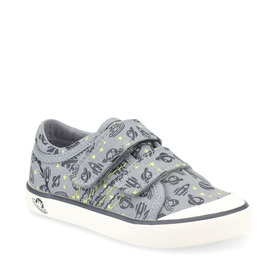 Canvas Cosmic - Grey