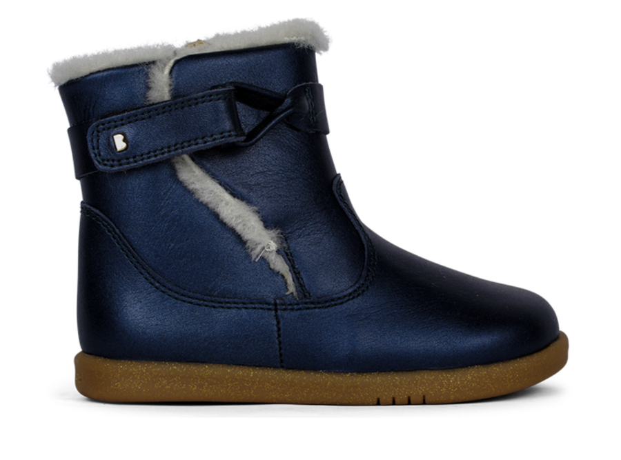 Whistler I Walk - Navy Shimmer WOOL LINED