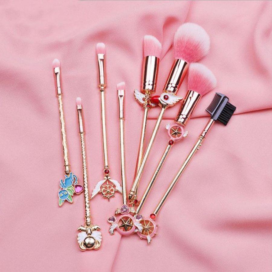 8 Cardcaptor Manga Style Makeup brushes