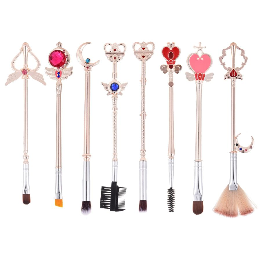 8 Sailor Moon Makeup Brushes | Champagne