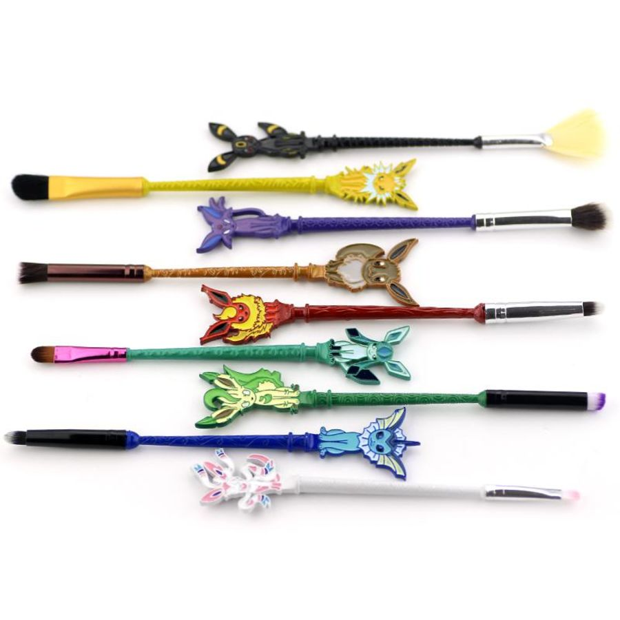 9 Japanese Manga Makeup Brushes