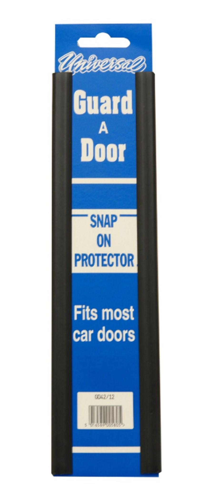 Universal Snap on Door Guard 12-inch - Black