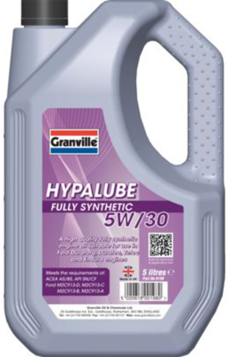 Hypalube Fully Synthetic Oil 5W/30