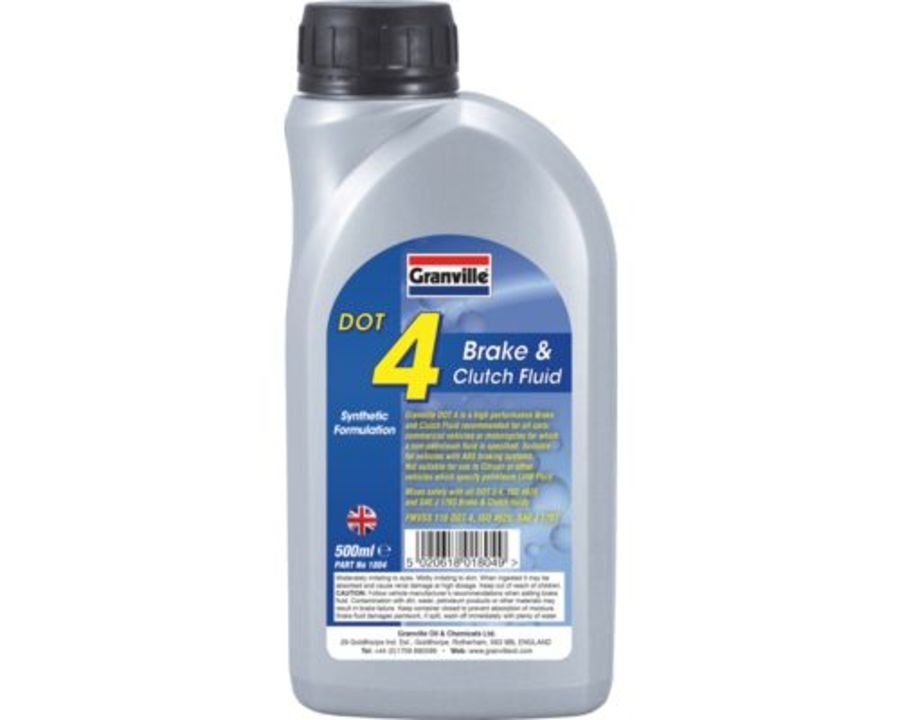 Brake & Clutch Fluid Dot 4