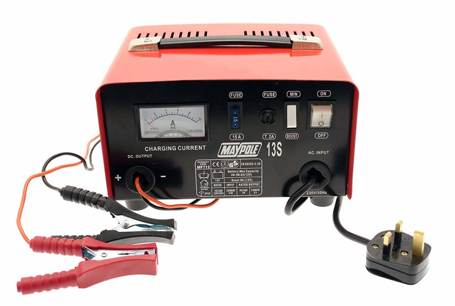 8A Metal Battery Charger 12V