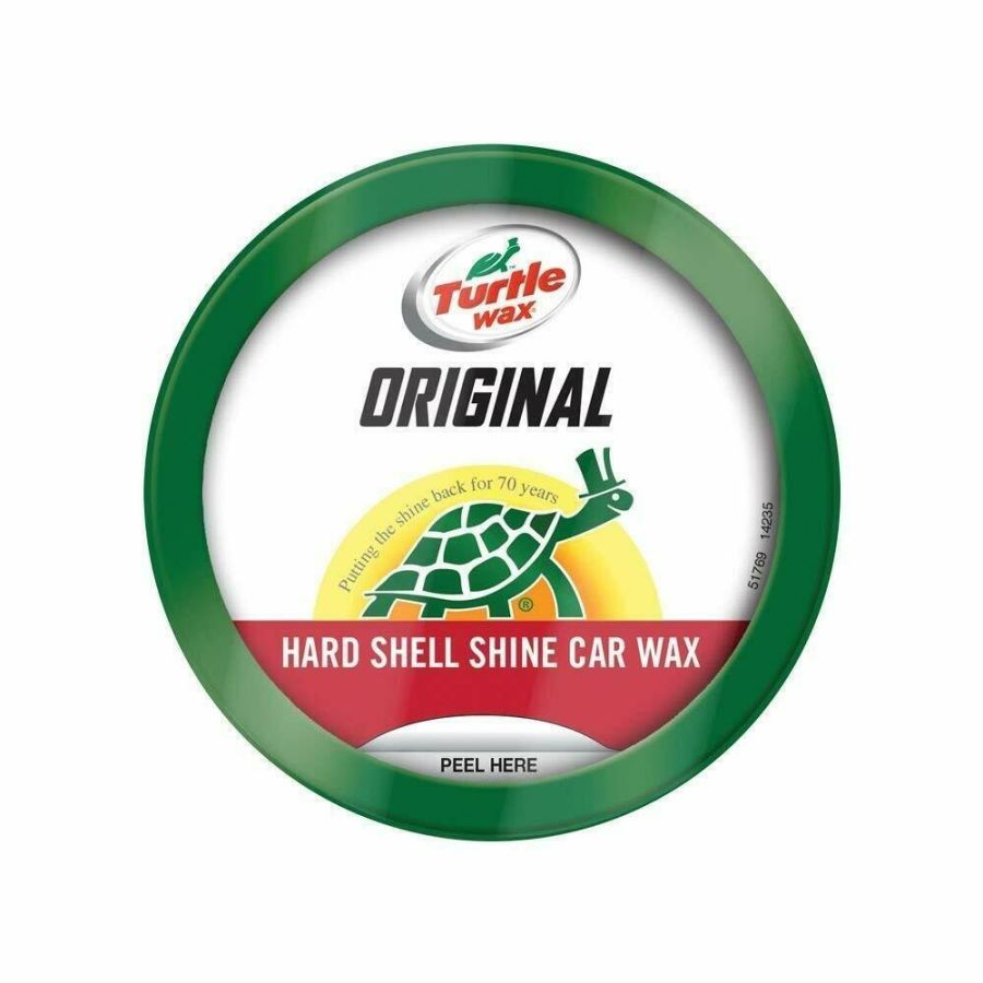 Turtle Wax Original Car Wax Paste Kit Hard Shell Shine 250g