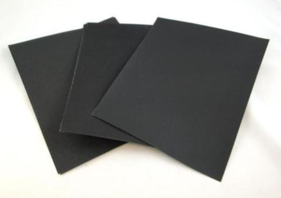 WET AND DRY SAND PAPER 40 - 3000 GRIT