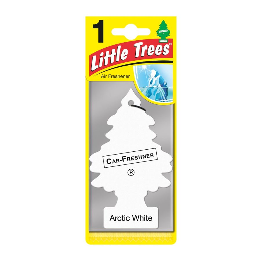LITTLE TREE ARCTIC WHITE CAR AIR FRESHENER